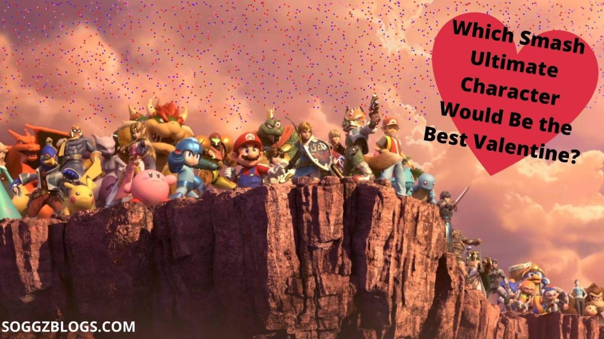 Ranking Every Smash Ultimate Character on how Good of a Valentine's Date They'd Be